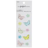 Butterflies & Flowers Rhinestone Stickers