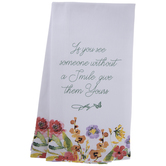Dolly Parton Floral Quote Kitchen Towels