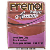 Bronze Premo! Accents Clay - 2 Ounce