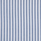 Blue & White Chambray Stripe Denim Fabric