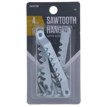Sawtooth Hangers & Screws