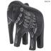 Black Minimal Elephant