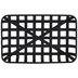 Black Rectangle Woven Metal Basket - Medium