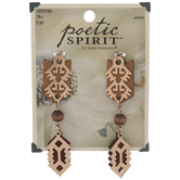 Filigree & Leather Dangle Charms