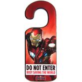 Captain America Civil War Wood Door Hanger
