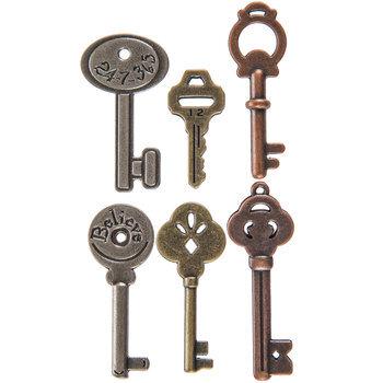 Vintage Key Embellishments