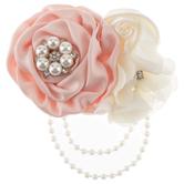 Flower & Pearl Strand Embellishment