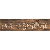 You Are My Sunshine Wood Magnet