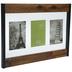 Caramel Hardwood Float Collage Wall Frame
