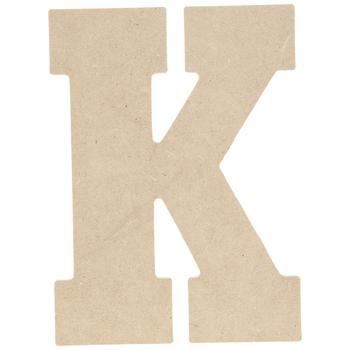 """Wood Letter K - 5"""""""