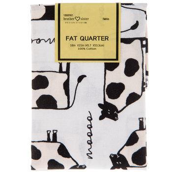 Cow & Chicken Fat Quarter