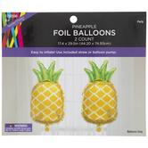 Pineapple Foil Balloons