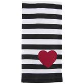 Heart & Striped Kitchen Towel