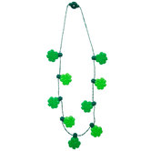 Light Up Shamrock Necklace