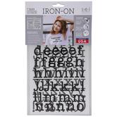 Vinyl Letter Iron-On Applique Lowercase Alphabet