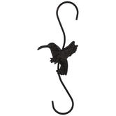 Hummingbird Metal Plant Hook