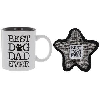 Dog Dad Mug & Dog Toy