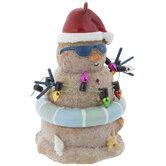 Beach Snowman Ornament
