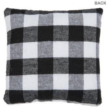 Sweater Weather Buffalo Check Pillow