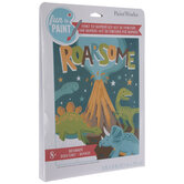 Roarsome Dinosaurs Paint By Number Kit