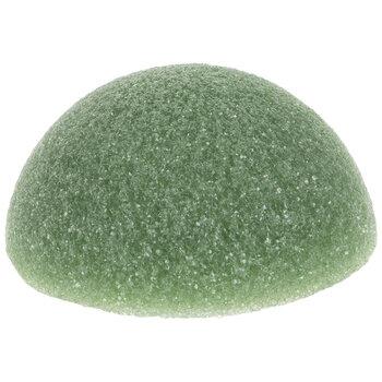 "Green FloraFoM Floral Foam Half Ball - 6"" x 2 13/16"""