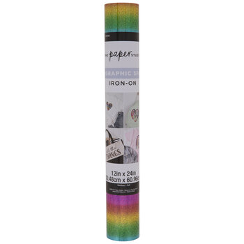 Rainbow Holographic Iron-On Transfer