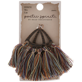 Multi-Color Fringe Tassel Pendants