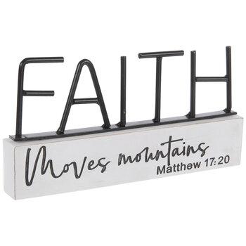 Matthew 17:20 Metal Decor