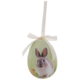 Bunny & Chick Egg Ornament