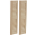 Miniature Louvered Shutters