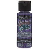 Purple Eclipse DecoArt Galaxy Glitter Paint