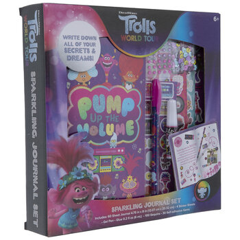 Trolls World Tour Sparkling Journal