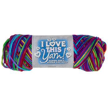 Candystick Stash Print I Love This Yarn