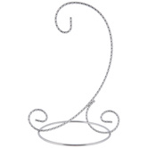 Silver Metal Ornament Stand