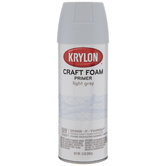 Light Gray Krylon Craft Foam Primer Spray Paint