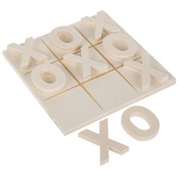 Tic Tac Toe Wood Shapes