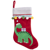 Red Dinosaur Stocking