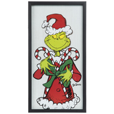 Grinch Framed Wall Decor