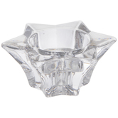 Star Glass Candle Holder