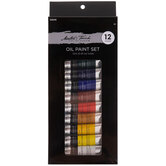 Master's Touch Oil Paint - 12 Piece Set