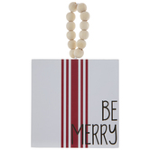 Be Merry Wreath Ornament