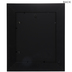 Black Distressed Wood Wall Frame - 8