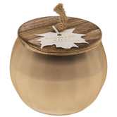 Woodland Walk Frosted Jar Candle