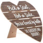 Pick A Seat Wood Wall Decor
