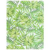 "Green Tropical Leaves Scrapbook Paper - 8 1/2"" x 11"""