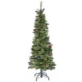 Ultra Slim Cashmere Bristol Pine Pre-Lit Christmas Tree - 5'