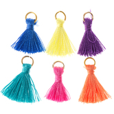 Bright Tassel Charms