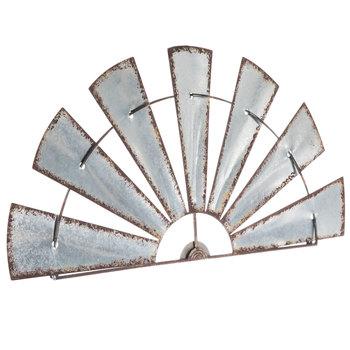Windmill Metal Wall Decor