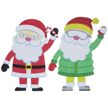Santa Foam Craft Kit