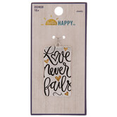 Love Never Fails Pendant